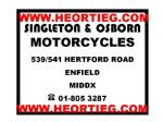 Singleton and Osborn Motorcycles  Enfield Dealer Decal Transfer  DDQ3